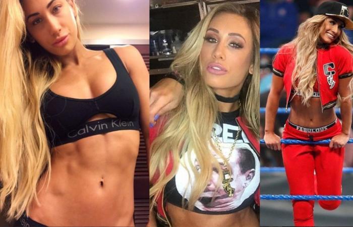 """بالصورة: نجمة """"WWE"""" كارميلا بإطلالة مثيرة"""