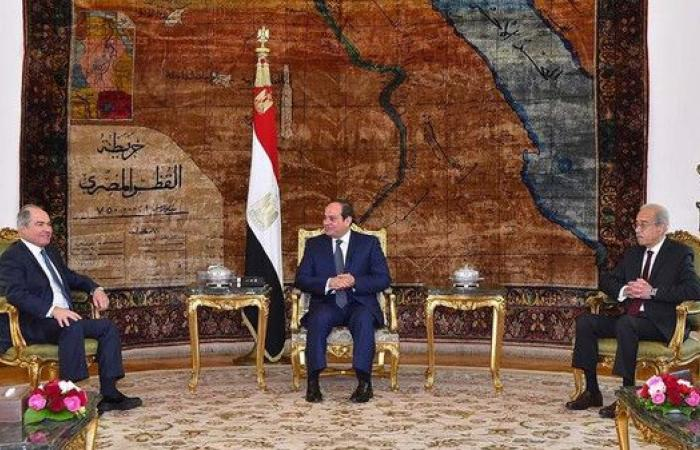 مباحثات مصرية أردنية حول قضايا المنطقة وإعمار العراق