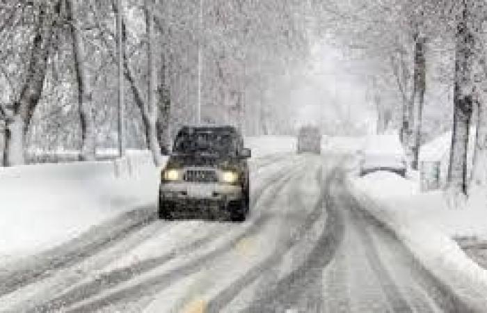 بعد الثلوج.. طريق عيون السيمان - حدث بعلبك سالكة