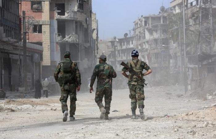 إعلام الأسد: قتلى بقصف استهدف سوقاً قرب دمشق