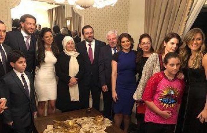 بالصور… زواج ابنة بهية الحريري