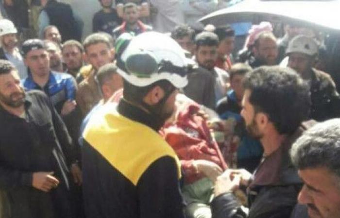 غارة على إدلب تقتل 16 طفلاً وهم يفرون من مدرستهم خوفاً