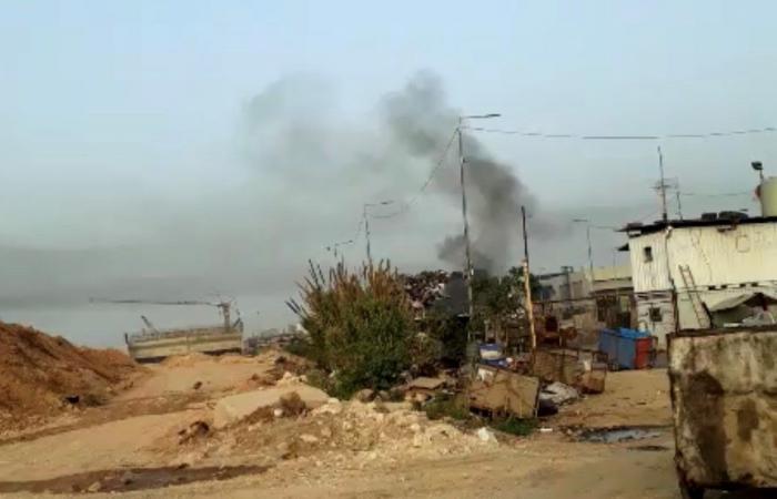 بالصور.. حرق الاطارات مستمّر في سقي طرابلس