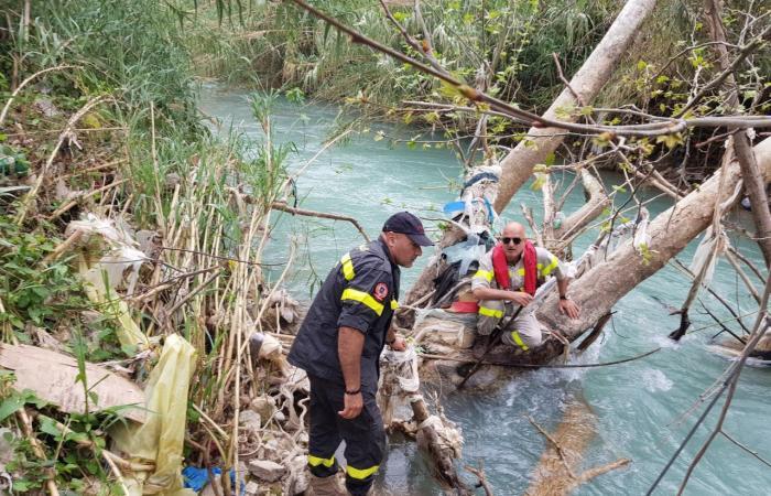 بالصورة: طفلة سقطت في مجرى نهر ابراهيم.. والبحث جارٍ عنها