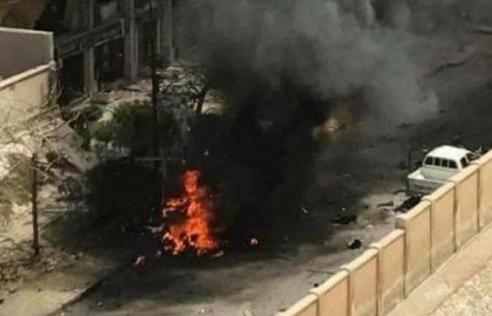 الصور الأولى لاستهداف موكب مدير أمن الإسكندرية
