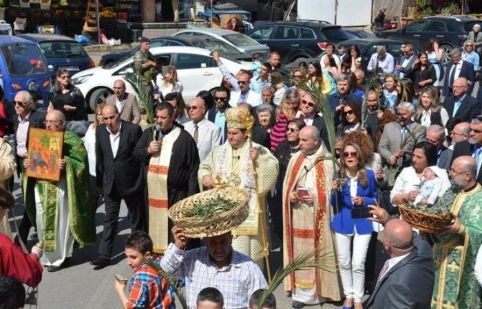 بالصور.. احتفالات أحد الشعانين تعمُّ المناطق اللبنانية