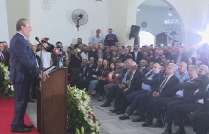 """بالأسماء.. وهاب يطلق لائحة """"الوحدة الوطنية"""""""