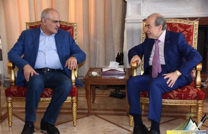 وزير المال زار أنور الخليل: بنينا تحالفنا الانتخابي على تاريخ مشرف من النضال