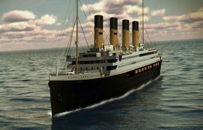 بيع قائمة العشاء الأول على متن تيتانيك!