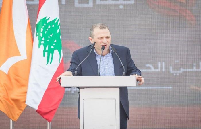"""باسيل أعلن إنشاء """"تكتل لبنان القوي"""" بعد الانتخابات"""