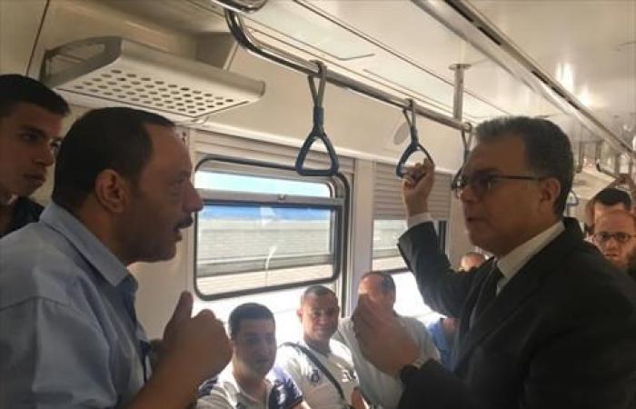 وزير النقل: إزدواج مترو «المرج» سيُخفض زمن التقاطر من 10 إلى 3.5 دقيقة
