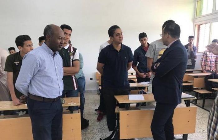 وكيل وزارة التعليم يزور مدرسة «محمد الكوت» بطرابلس