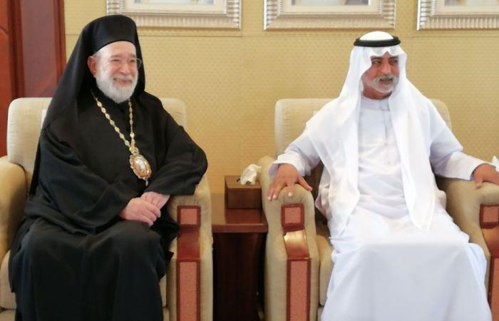 المطران عودة يشارك في مؤتمر المجتمعات المسلمة في أبو ظبي