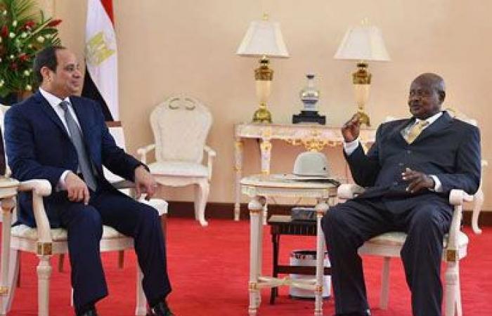 بث مباشر.. مؤتمر صحفي مشترك بين «السيسي» ونظيره الأوغندي
