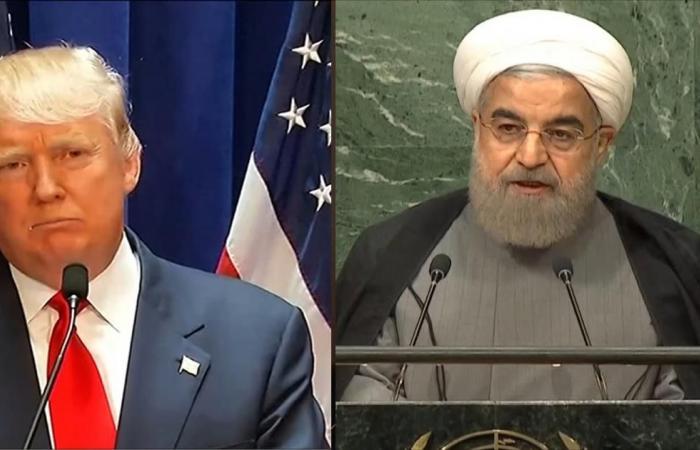 ترامب يتوعد إيران وروحاني يدعو أوروبا لحسم موقفها