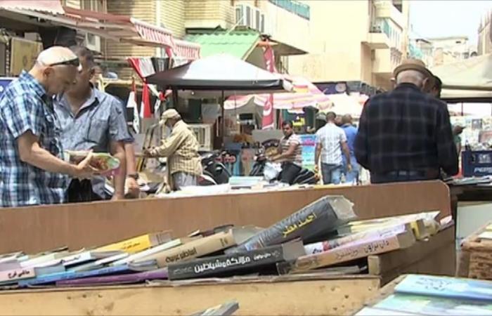 كاميرا الجزيرة تتجول في شارع المتنبي ببغداد