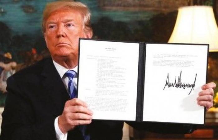 ترامب ينسحب من النووي الإيراني وروســيا وأوروبا تعارضان وإسرائيل تُرحِّب