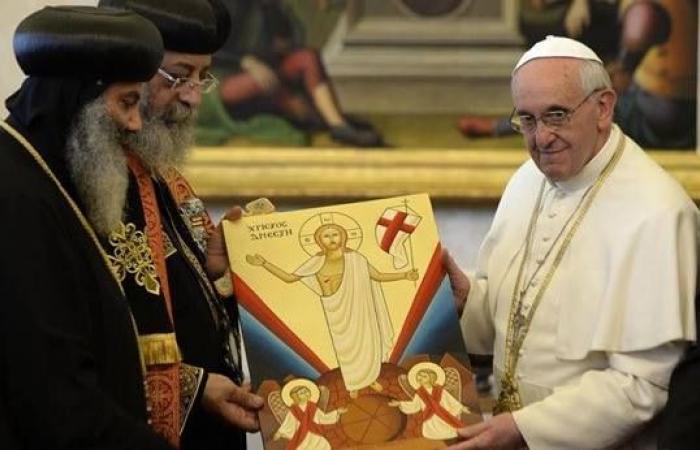 البابا فرنسيس في رسالة لـ«تواضروس»: أصلي دائما لكم ولمسيحيي مصر والشرق الأوسط