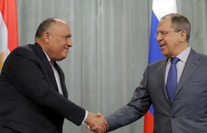 الاثنين.. انطلاق مباحثات بين وزيري خارجية مصر وروسيا بموسكو»