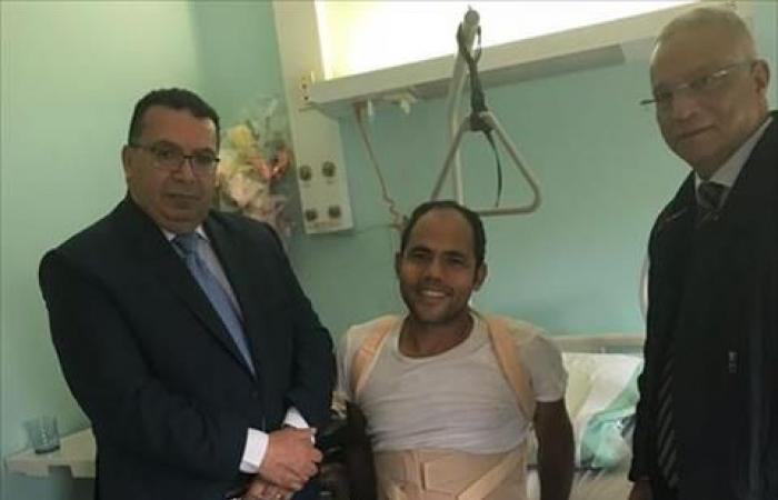 «القوى العاملة»: استقرار الحالة الصحية لمصري أُصيب في عمله بإيطاليا