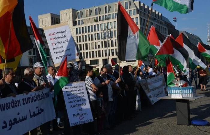 مظاهرة عفوية في برلين تنديدا بمجزرة غزة