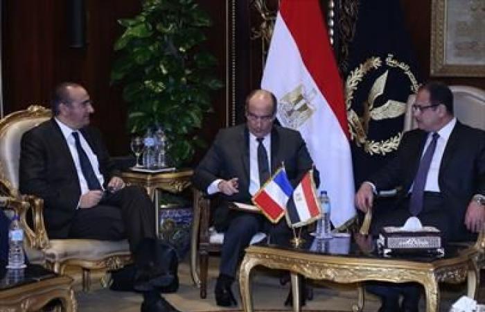 وزير الداخلية يستقبل «لوران نونيز» رئيس جهاز الأمن الداخلي الفرنسي