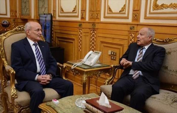 «العصار» و«أبو الغيط» يبحثان تعزيز التعاون الصناعي مع الدول العربية