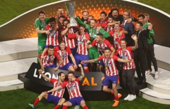 أتلتيكو مدريد بطل الدوري الأوروبي للمرة الثالثة بتاريخه