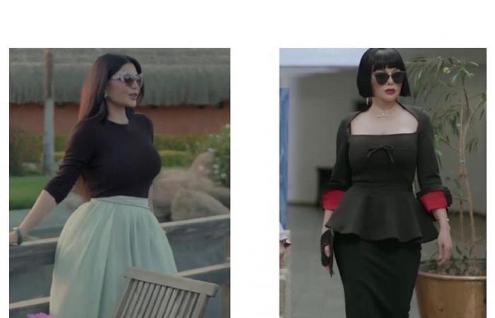 6 صيحات موضة أطلقتها هيفاء وهبي في مسلسل لعنة كارما