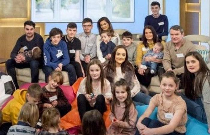 أكبر عائلة بريطانية تستعد لإستقبال طفلها الـ21!
