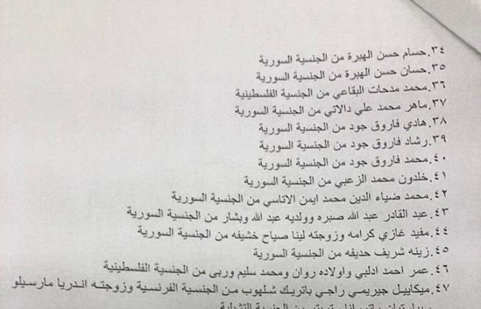 الجميل: معلومات عن توطين لعائلات سورية وفلسطينية