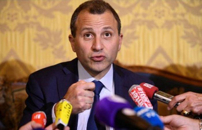 باسيل: لضرورة دعم لبنان في مطلب عودة النازحين
