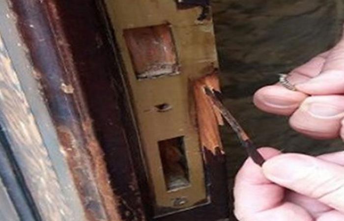 سرقة صندوق التبرعات في كنيسة مار جرجس في طليا