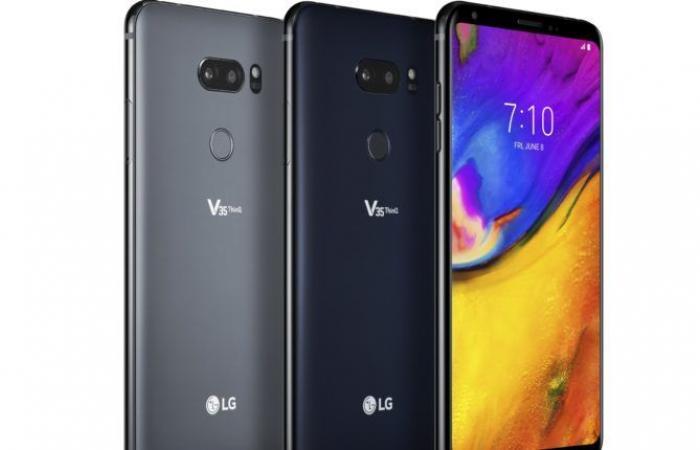 إل جي تكشف النقاب عن هاتفها الرائد LG V35 ThinQ
