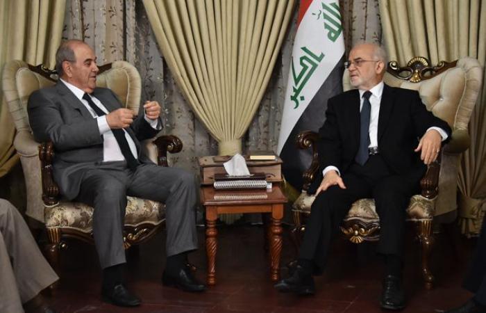 الجعفري وعلاوي يبحثان الاوضاع السياسية في البلاد