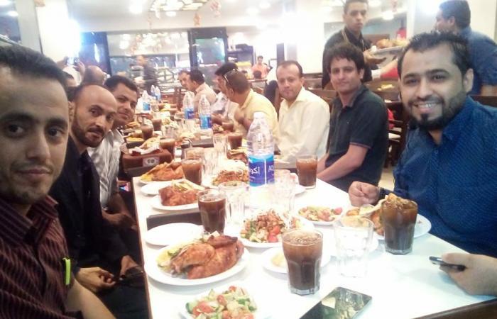 مأدبة إفطار يقيمها القطاع الطبي الإستشاري اليمني