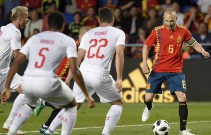 سويسرا تفرض التعادل على إسبانيا