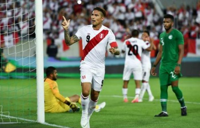 غيريرو العائد من الإيقاف يقود البيرو للفوز على السعودية