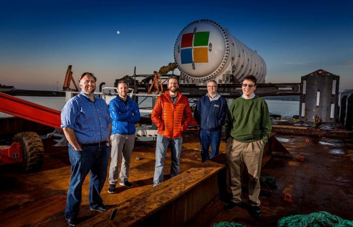 مايكروسوفت ترسل مركز بيانات إلى أعماق البحر الاسكتلندي