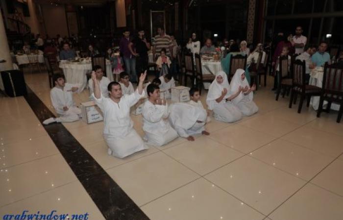 """""""معهد الرحمة لذوي الاحتياجات الخاصة"""" في طرابلس في الإفطار الرمضاني الثاني"""