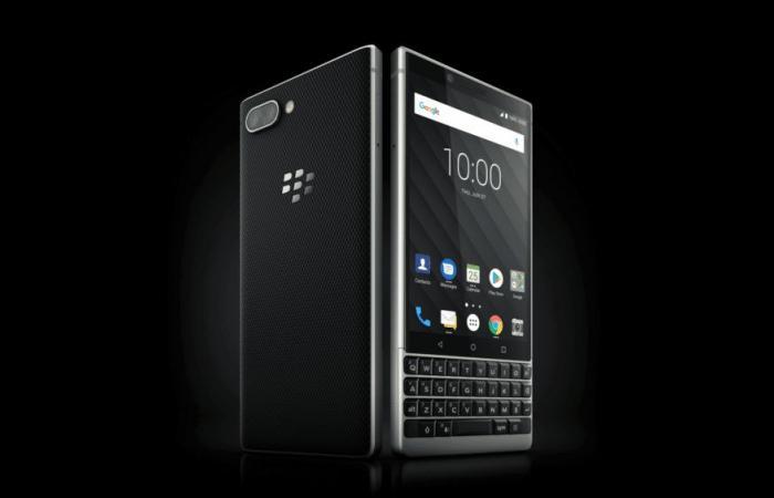 بلاك بيري تكشف النقاب عن هاتف BlackBerry Key2