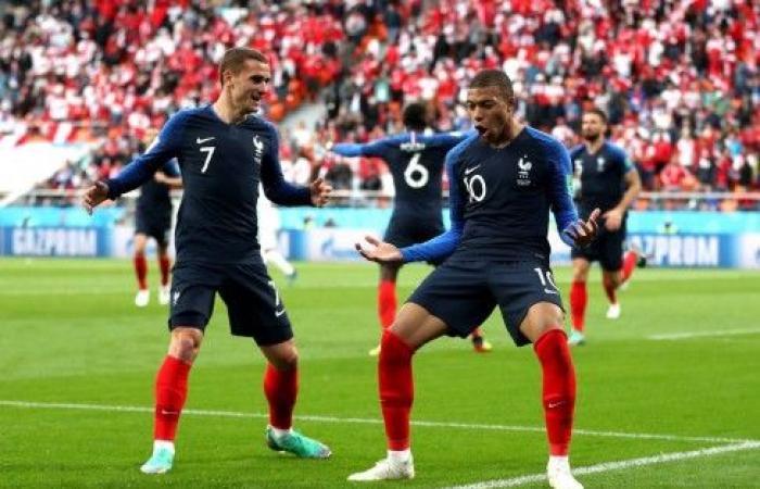 فرنسا تتأهل إلى دور الـ 16 بعد تخطيها البيرو بصعوبة