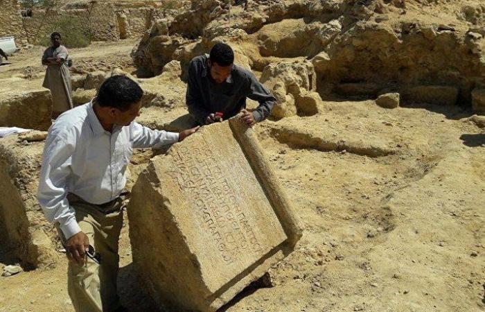 """بالصور... بعثة أثرية مصرية تكتشف معبدا لـ""""إمبراطور روماني"""" في سيوة"""