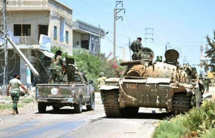 """المعارضة السورية: ما يحصل في درعا """"جرائم حرب"""""""