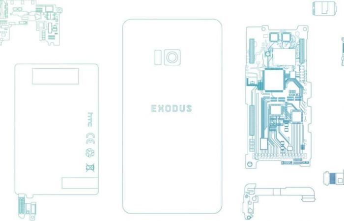إتش تي سي تطور هاتف Exodus الداعم لتقنية البلوك تشين
