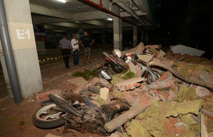 39 قتيلا جراء هزة عنيفة ضربت جزيرة إندونيسية (شاهد)