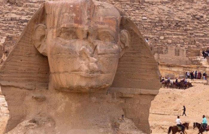 """""""أبو الهول"""" جديد يظهر في مصر"""