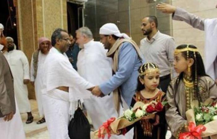 وزير الأوقاف يستقبل الحجاج اليمنيين بمكة المكرمة