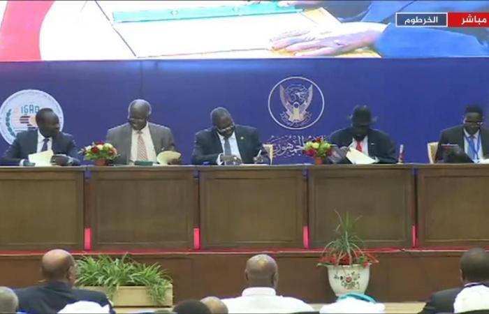 """بالخرطوم وبرعاية أفريقية """"تقاسم"""" جديد لسلطة زعماء جوبا"""