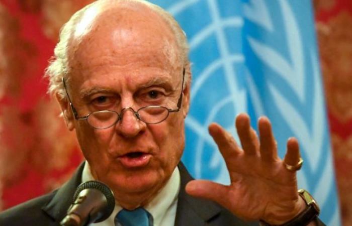 سوريا | دي ميستورا : أواصل مشاوراتي بشأن إنشاء لجنة دستورية في سوريا